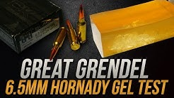 Great Grendel: 6.5mm Grendel Hornady Black 123gr ELD Gel Test