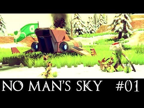 NO MAN'S SKY - SPACESHIP LAUNCH !!! E01 ( NMS GAMEPLAY )