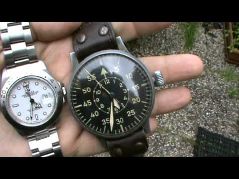 Collecting Watches - WWII Military Pilot