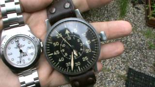 Collecting Watches - WWII Military Pilot's Watch Laco Luftwaffe German