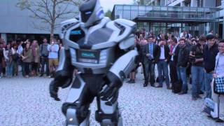 Robot dance: NOX the Robot at the 20th X-Day