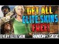 GET ANY ELITE SKIN FOR FREE - INSANE NEW ELITE SKIN GLITCH ON ANY OPERATOR - (Rainbow Six Siege)