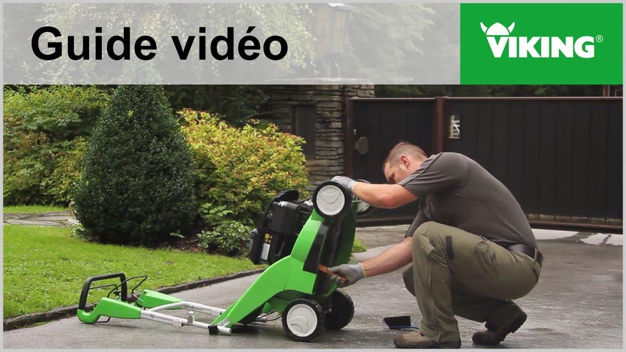 Comment nettoyer votre tondeuse ? - Machines de jardin VIKING - YouTube