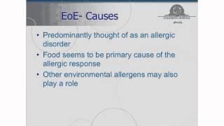 Eosinophilic Gastrointestinal Diseases