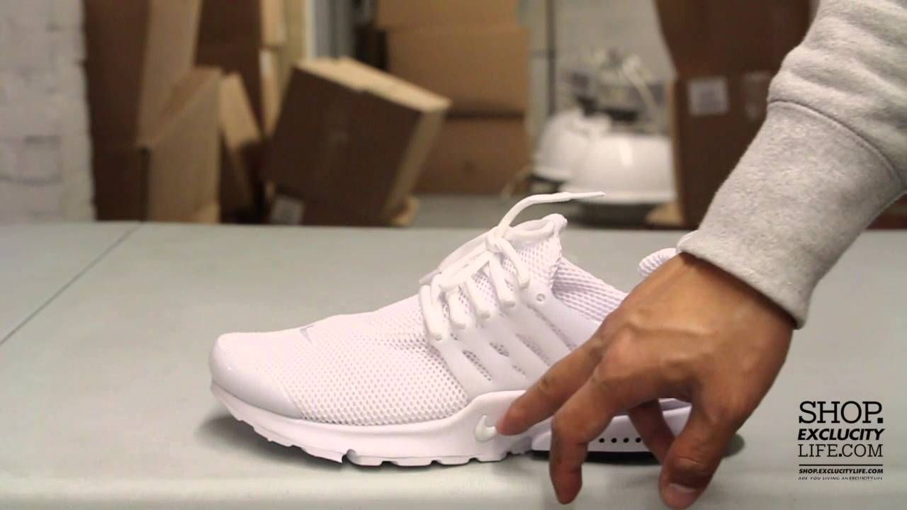 9fc546c1f4ac Nike Air Presto White - Black Unboxing Video at Exclucity - YouTube