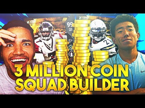 3 MILLION SPENDING SPREE VS THATWALKER! Madden 18 Ultimate Team