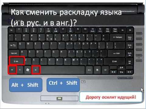 знакомство клавиатурой компьютера