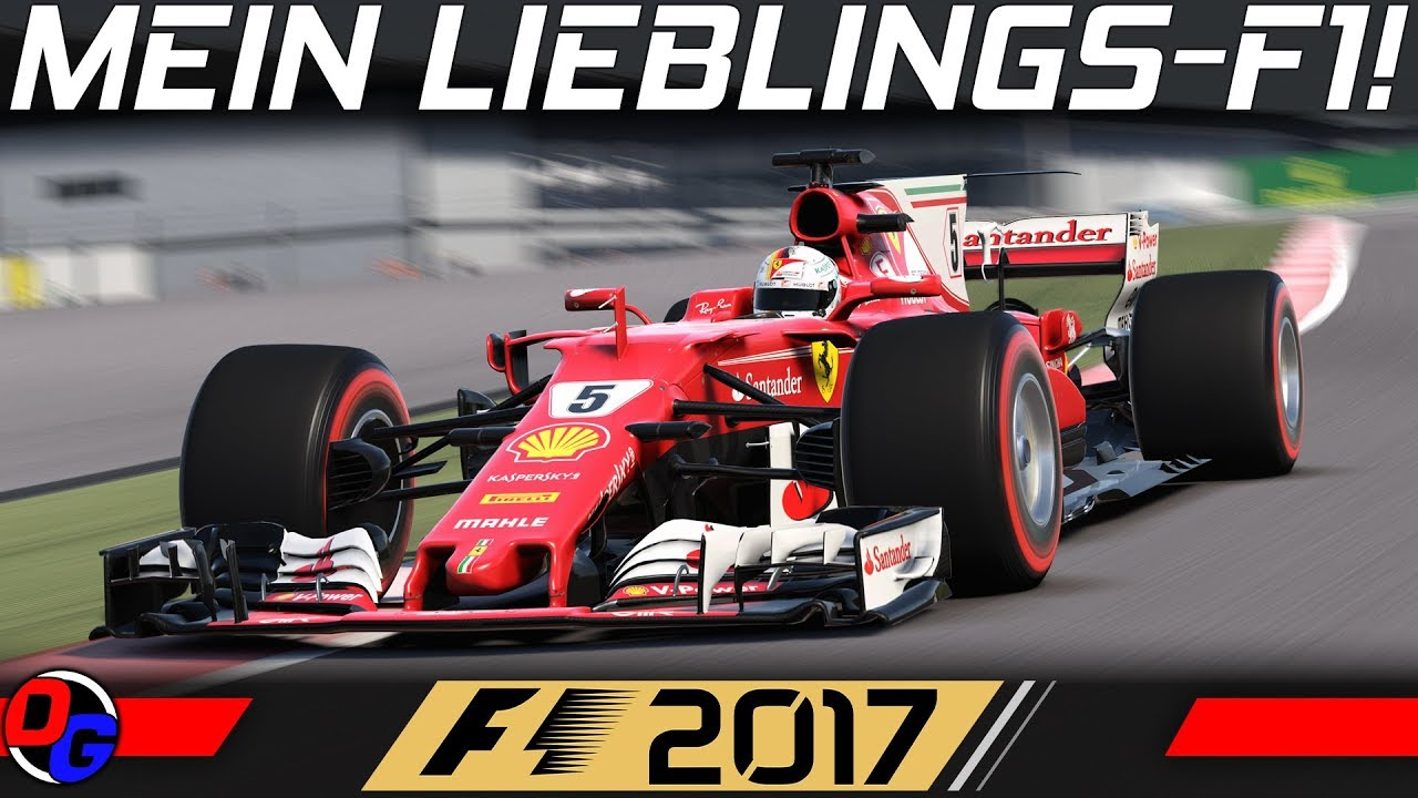 Mein Lieblings Formel 1 Spiel F1 2017 4k Gameplay German Deutsch Youtube