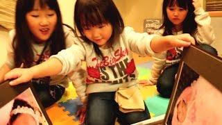 昔の写真見たら赤ちゃん返りして英奈に甘える玲美&稚奈 thumbnail