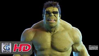 "CGI 3D Animation Fanart HD: ""THE INCREDIBLE HULK"" - by Robert Kuczera"