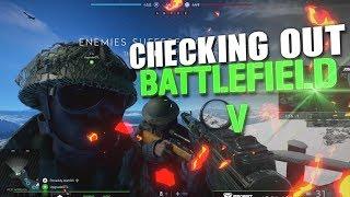 JoshOG Checks Out Battlefield V Multiplayer - (Battlefield 5)