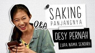 Q&A Asal Usul Nama Panjang Desy JKT48