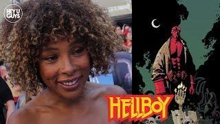 Sophie Okonedo on the nerves of taking on Hellboy 2019