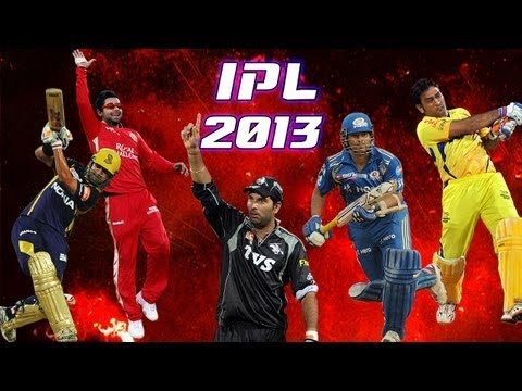 Indian Premier League 2013 Promo: The Cricketainment begins