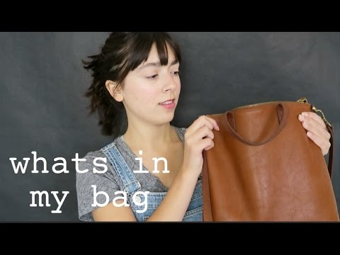 What's In My Bag ft. Madewell Transport Tote