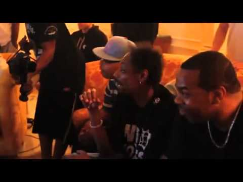 Bow Wow, The Game, Nelly, Fat Joe & Snoop Playing NBA 2k11 (HD)