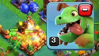 BEST BH4 TROOP Baby Dragons LV3? Let's Play BH4 in Clash of Clans