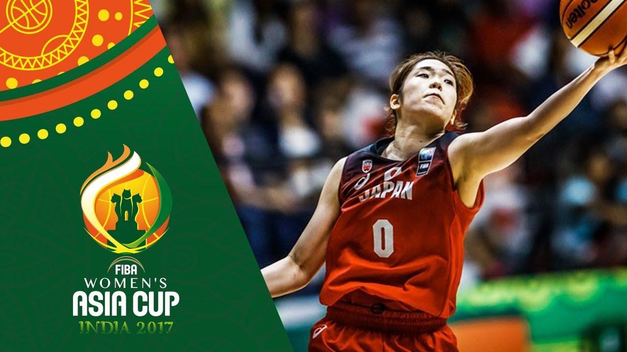 Moeko Nagaoka's best moments from the FIBA Women's Asia Cup 2017