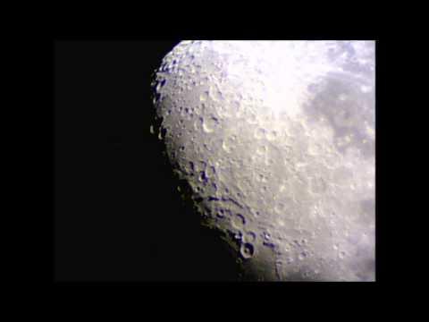 Moon With Meade Starnavigator 102mm Refractor Telescope