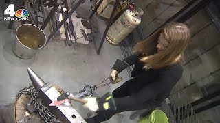 NYC Workshop Lets You Make Your Own Sword | NBC New York