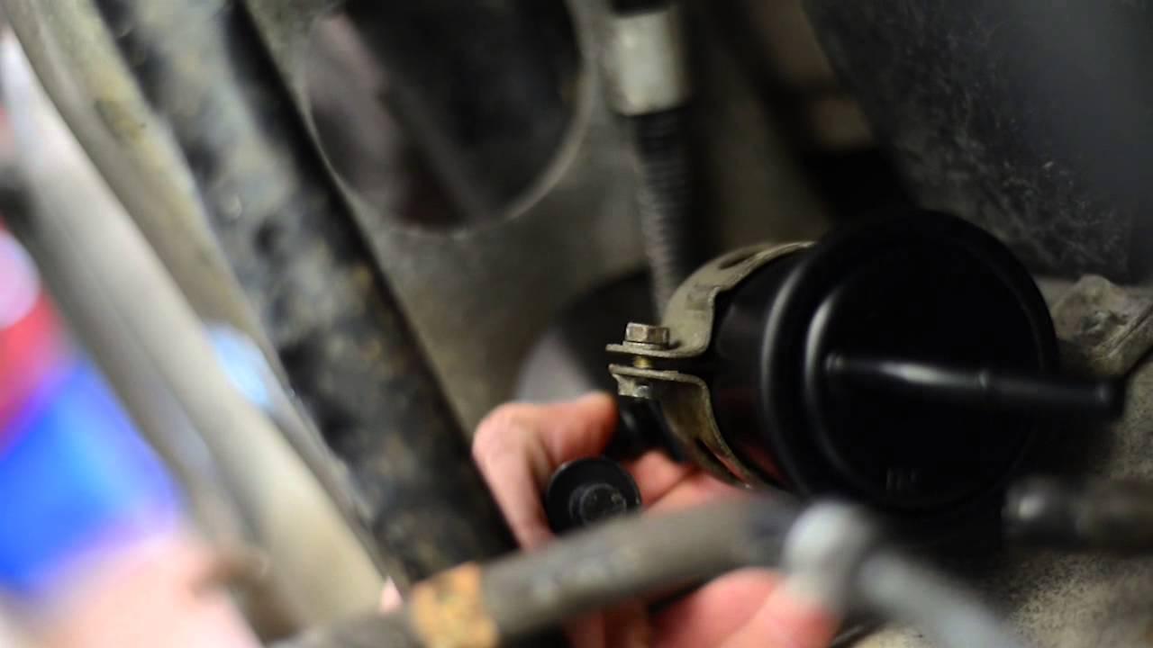 small resolution of na miata fuel filter change youtubena miata fuel filter change