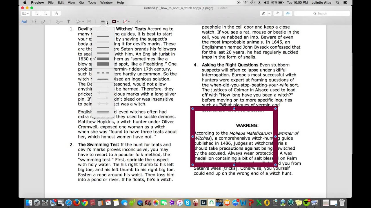 Tutorial: How To Annotate Pdf Using A Mac