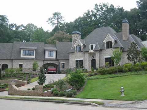 Dream Homes Designed by Neil O. Campbell, Atlanta Georgia