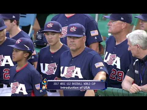 USA v Chinese Taipei - FINAL - WBSC U-12 Baseball World Cup 2017