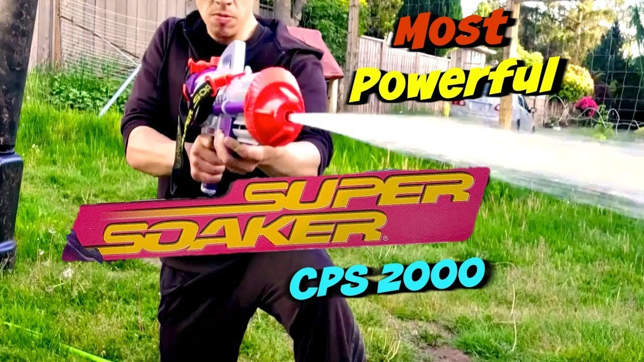 Worlds Most Powerful Super Soaker Cps 2000 Super Soaker Series