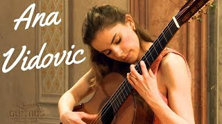 Download Ana Vidovic plays Asturias by Isaac Albéniz on a Jim Redgate classical guitar Mp3 and Videos