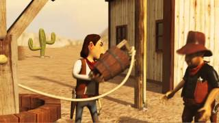 Western Fly - Short animation by Irakli Kiladze