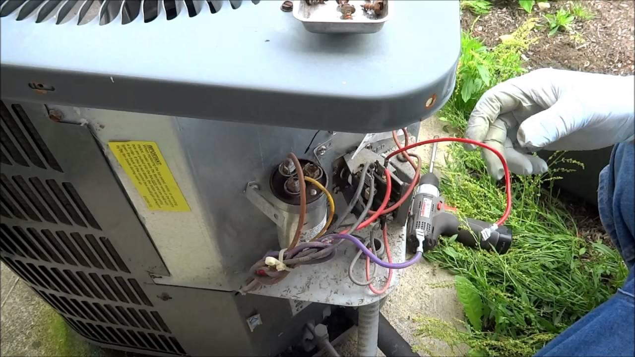 Annual Maintenance On 2 Goodman A C Units Youtube