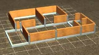 Animasi membuat rumah sederhana
