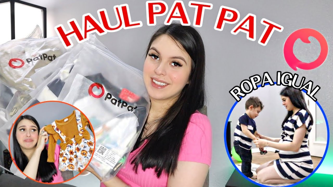 OUTFITS IGUALES PARA TODA LA FAMILIA 👨👩👧👦⎪PAT PAT HAUL