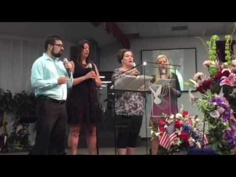 Michelle Rose talent memorial her three sisters and her brother singing her home hey Bug is it