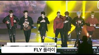갓세븐 GOT7[4K 직캠]FLY 플라이@20160924 Rock Music