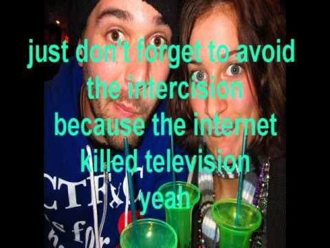 Internet Killed television Lyrics