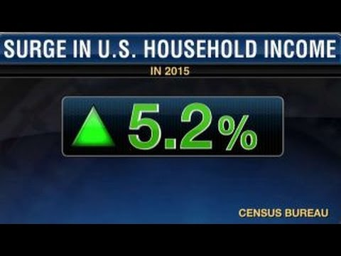 U.S. household incomes surge in 2015