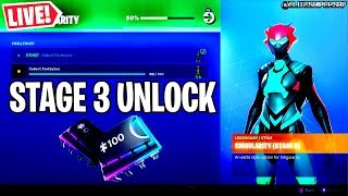 🔴 *NEW* SINGULARITY STAGE 3 SKIN UNLOCKED GUIDE, FORTBYTE UNLOCKS (FORTNITE LIVE)