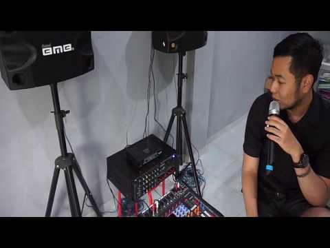 Paket Karaoke Sound BMB + mixer kualitas Ok