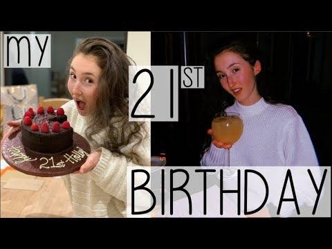 TURNING 21! WHAT I GOT, ATE & DID ON MY 21ST BIRTHDAY VLOG