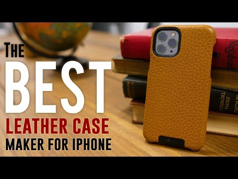 The BEST Leather Case For IPhone 11 Pro - Vaja Grip