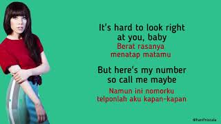 Carly Rae Jepsen - call Me Maybe | Lirik Terjemahan