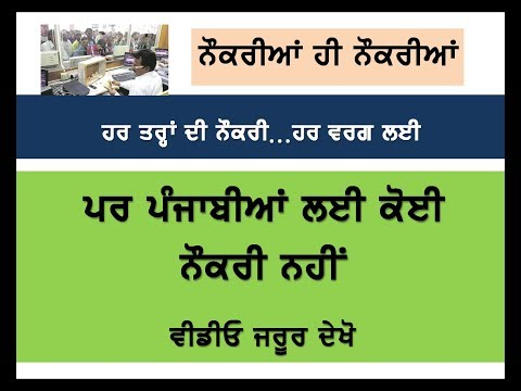 Jobs for Punjab by Mehra Videos