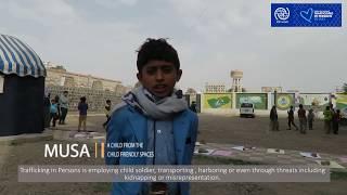 IOM Yemen: World Day Against Trafficking 2017