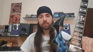 Guitarra Mata-Demônios - COMPLETA!!!