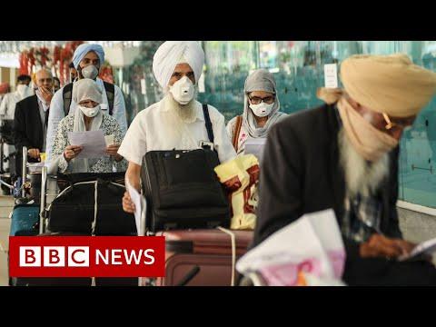 India coronavirus: Massive repatriation operation begins - BBC News