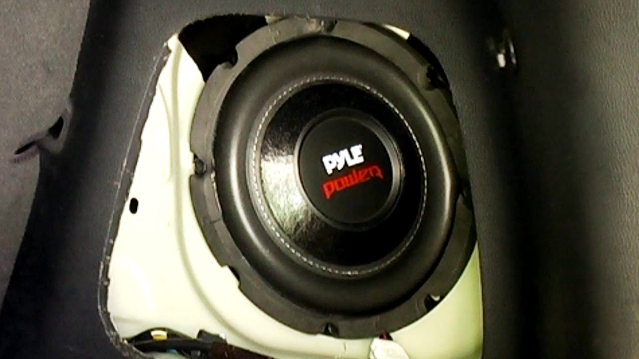 Kia Soul Stock Subwoofer Speaker Replacement Youtube