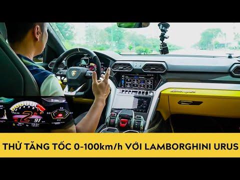 Thử tăng tốc 0-100km/h với Lamborghini Urus - SUV TRIỆU ĐÔ nhanh nhất thế giới  | Autodaily