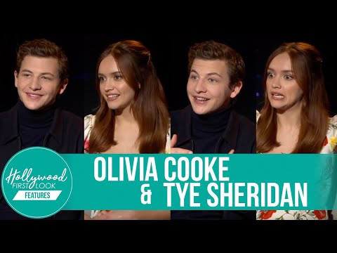 Olivia Cooke & Tye Sheridan  Making of:  READY PLAYER ONE 2018